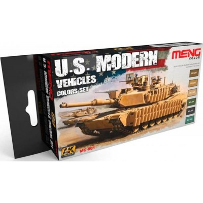 MENG-US Modern Vehicle Colours set