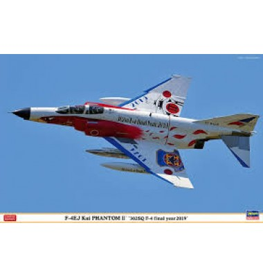 F-4EJ Kai Phantom II '302SQ F-4 final year 2019' ( 1/48 code 07475 )
