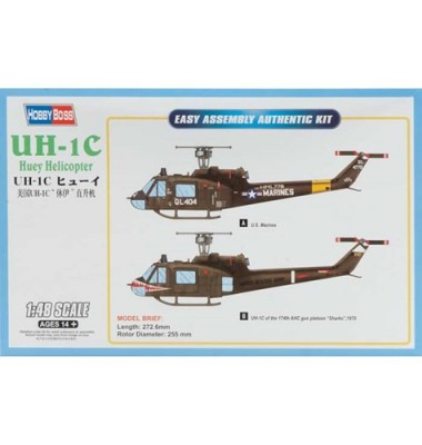 UH-1C Huey Helicopter ( 1/48 code 85803 )