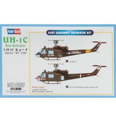 UH-1C Huey Helicopter ( 1/48 code 85803 )