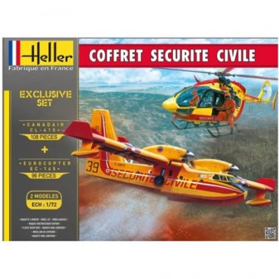 Coffret Securite Civile (2 kits ) ( 1/72 code 53009 )