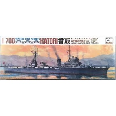 Japan Light Cruiser Katori ( 1/700 code wl c075 )