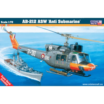 AB-212 ASW 'Anti Submarine' ( 1/72 code d57 )
