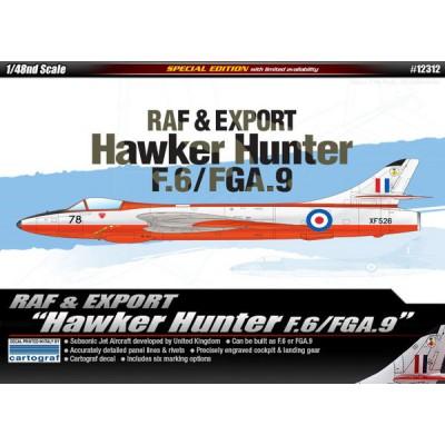 RAF & Export Hawker Hunter F.6/FGA.9 ( 1/48 code 12312 )