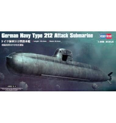 German Type 212 Attack Submarine ( 1/350 code 83527 )