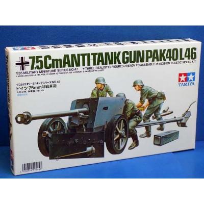 German 75mm Anti tank Gun ( 1/35 code 35047 )