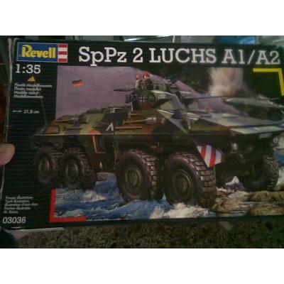 """SpPz 2 """"Luchs"""" A1/A2 ( 1/35 code 03036 )"""