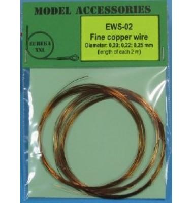Eureka XXL EWS-02 Fine copper wires 0.20 mm / 0.22 mm / 0.25 mm