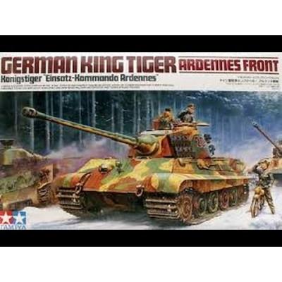 German King Tiger Ardennes Front ( 1/35 code 35252 )