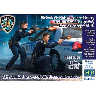 The Heist series, Kit №1 Sgt Jack Melgoza and Patrolman Sally Taylor ( 1/24 CODE 24064 )