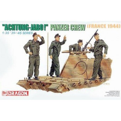 """ AGHTUNG-JABO! "" Panzer crew ( 1/35 code 6191 )"