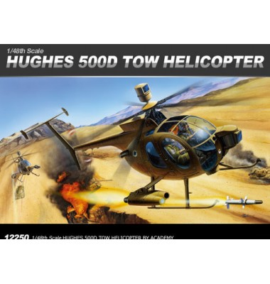HUGHES 500D TOW HELICOPTER ( 1/48 code 12250 )