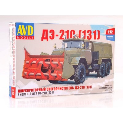 snow blower of base ZIL-131 DE-210 ( 1/72 code 1292 )
