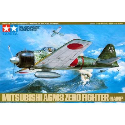 Mitsubishi A6M3 Zero Fighter (Hamp) ( 1/48 code 61025 )