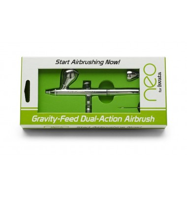 IWATA neo Gravity Feed Dual Action 0.35mm