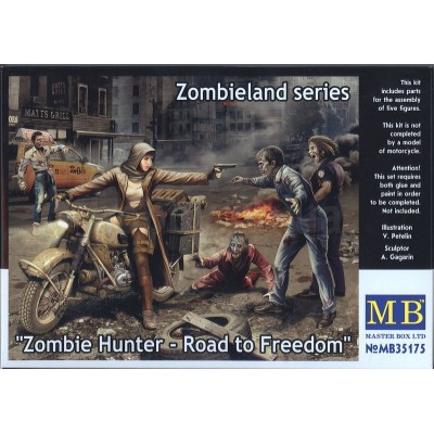 """Zombie Hunter - Road to Freedom"" ( 1/35 code 35175 )"