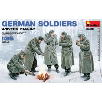 German Soldiers (Winter 1941-42) ( 1/35 code 35218 )