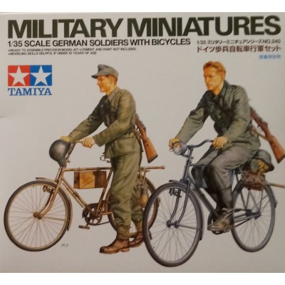 German Soldiers with Bicycles ( 1/35 code 35240 )