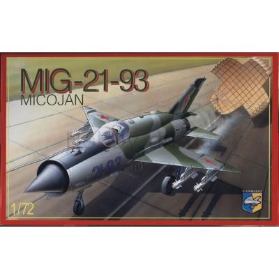Mig-21 93 ( 1/72 code 72007 )