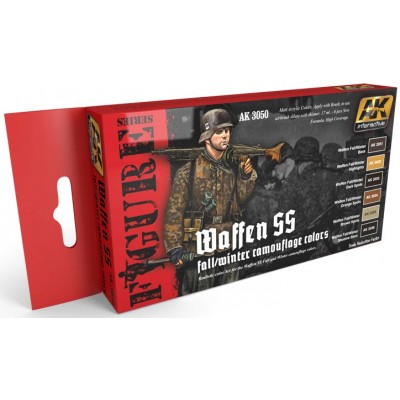 WAFFEN SS FALL/WINTER CAMOUFLAGE COLOURS 3050