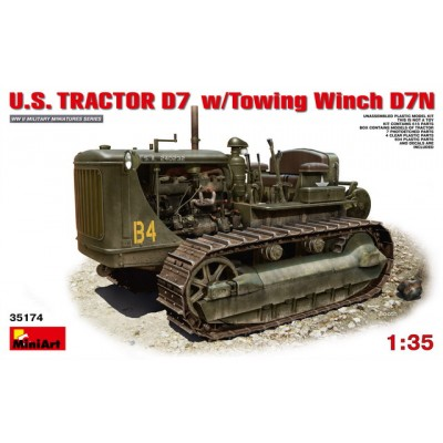 U.S. TRACTOR D7 w/Towing Winch D7N (1/35  code 35174 )