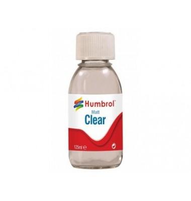 Humbrol Clear 125ml Matt Varnish