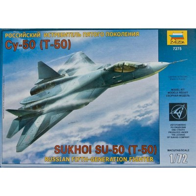 Sukhoi T-50 Russian Fifth-Generation Fighter ( 1/72 code 7275 )