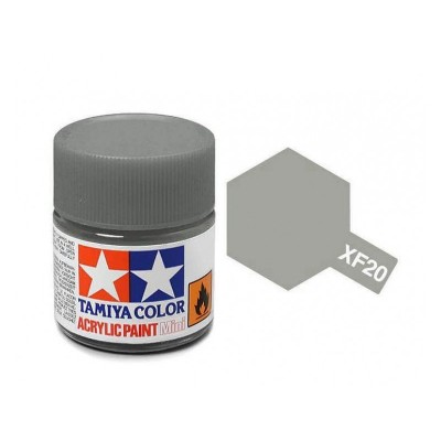 Tamiya Acrylic  XF-20 Medium Grey - 10ml