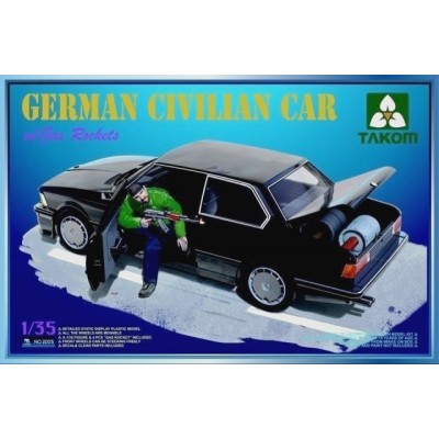 German Civilian Car w/ Gas Rockets ( 1/35 code 2005 )