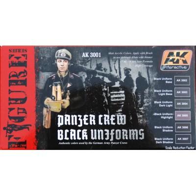 AK Interactive Black Panzer Crew Uniform