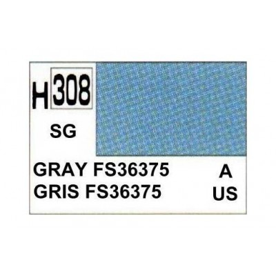 Gunze Aqueous Color Acrylic H308 Gray Fs36375