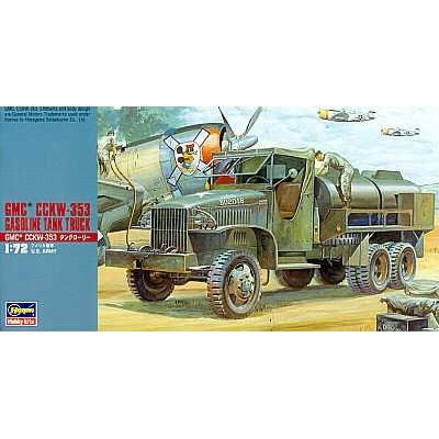 GMC CCKW-353 Gasoline Tank Truck ( 1/72 code mt 021 )