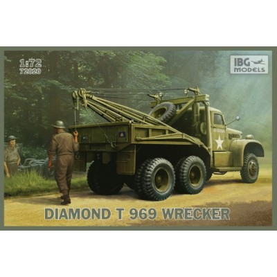 Diamond T 969 Wrecker ( 1/72 code 72020 )