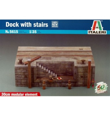 DOCK with stairs ( 1/35 code 5615 )