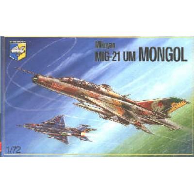 Mig 21 UM Mongol ( 1/72 CODE 72003)