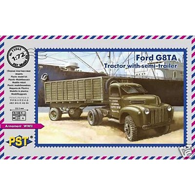 FORD G8TA WITH SEMITRAILER (1/72 code  72065)