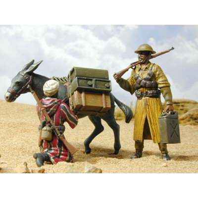 MOROCCAN /FRENCH/ INAFNTRY WITH DONKEY 1940-43 (1/35 code 1120)