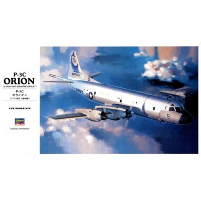 P-3C ORION US NAVY ANTI- SUBMARINE AIRCRAFT ( 1/72 code k15 )