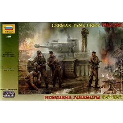 German Tank Crew 1943-1945 ( 1/35 code 3614 )