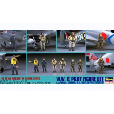 WWII Pilot Figure Set ( 1/48 code 36007 )