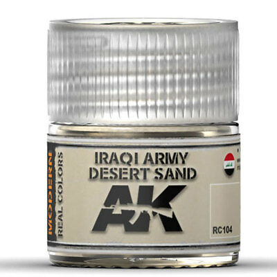 Iraqi Army Desert Sand - Real colors (10ml) - Acrylic Lacquer Paints