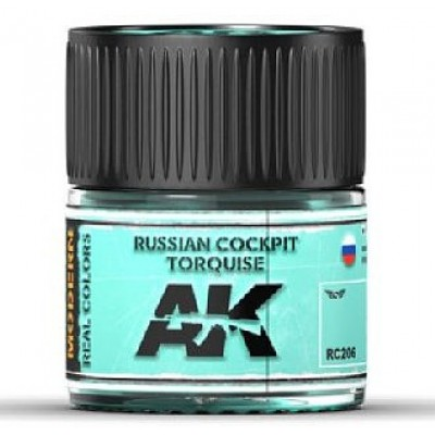 Russian Cockpit Torquise - Real colors (10ml) - Acrylic Lacquer Paints