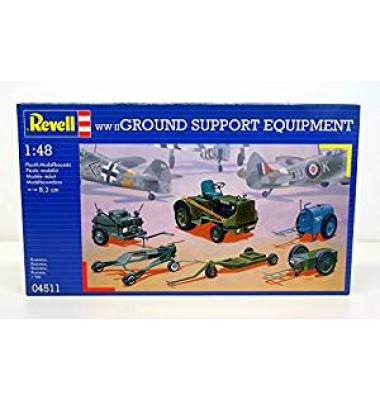 WWII Ground Support Equipment ( 1/48 code 04511 )