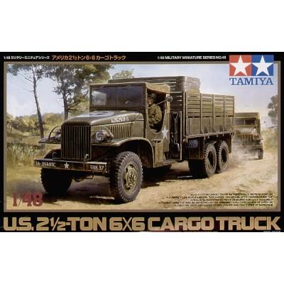 us 2 1/2 ton 6x6 cargo truck ( 1/48 code 32548 )