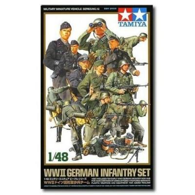 WW II German Infantry Set ( 1/48 code 35512 )