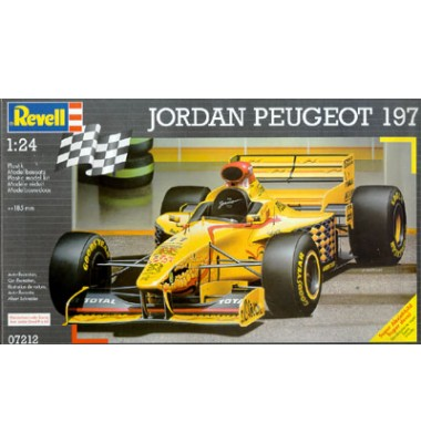 Jordan Peugeot 197 ( 1;24 code 07212 )