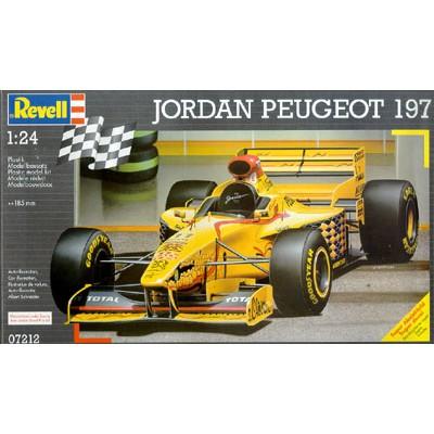 Jordan Peugeot 197 ( 1/24 code 07212 )