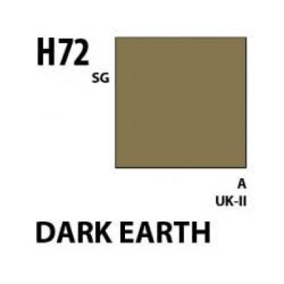 Gunze-Hobby Color H-72  ( dark earth )