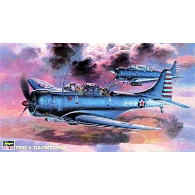 SBD-3 Dauntless ( 1/48 code 09119 )