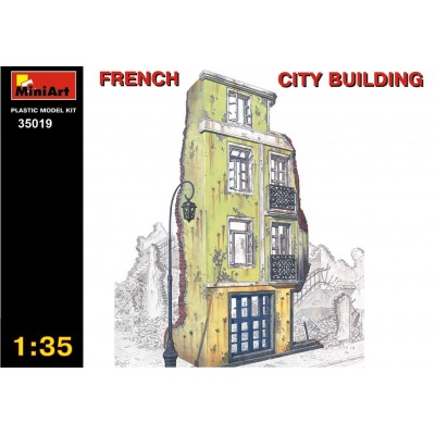 French City Building ( 1/35 code 35019 )